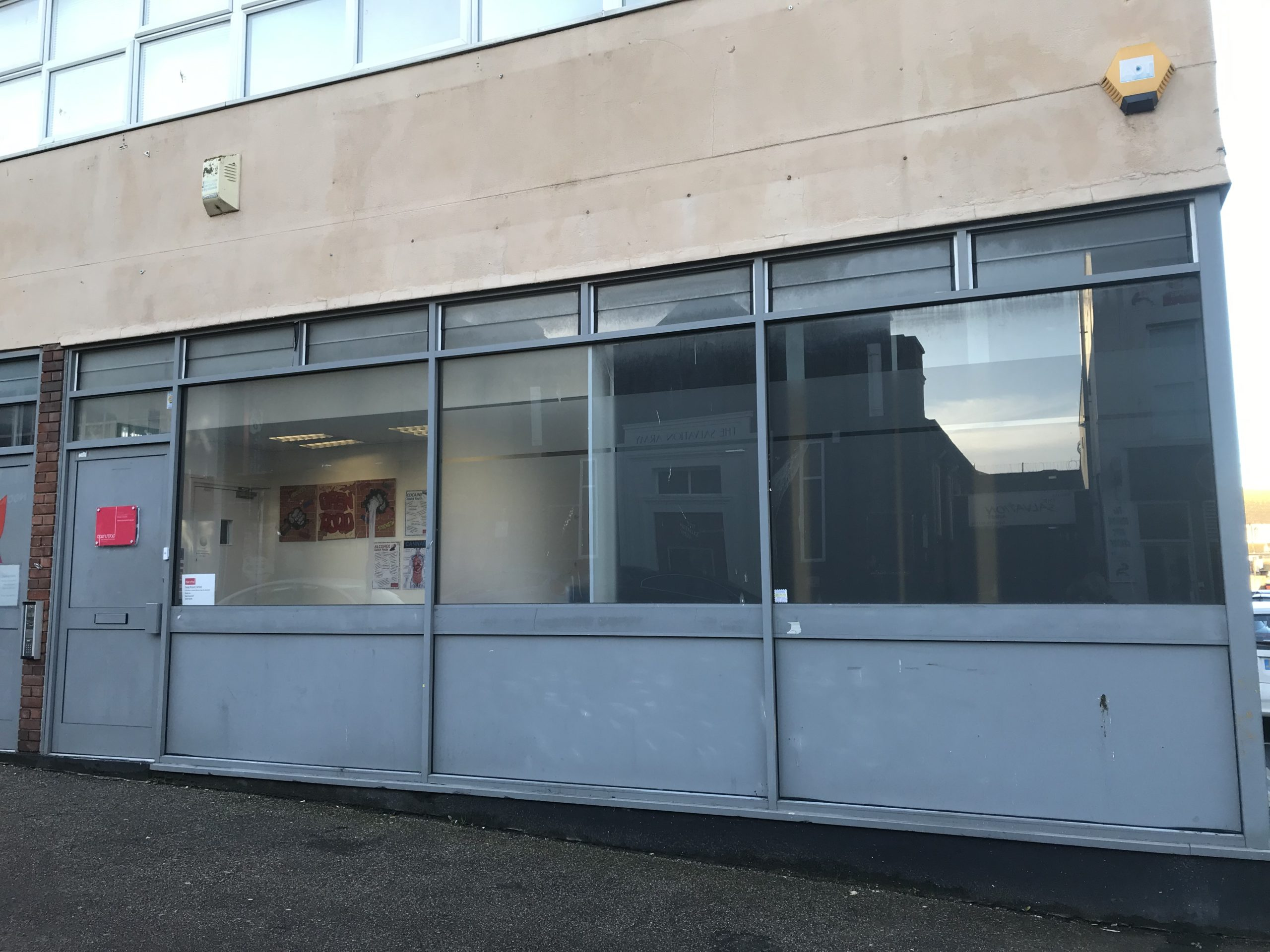 Front of Medway Young Peoples Centre