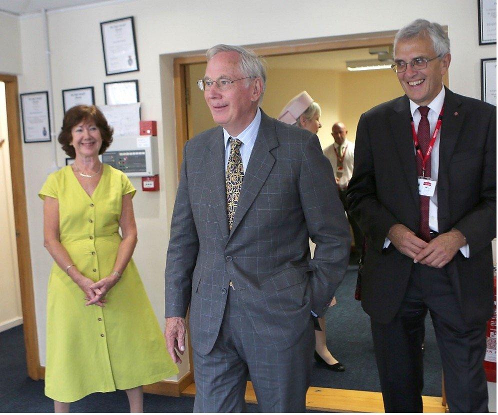 Duke Of Gloucester Visits Open Road