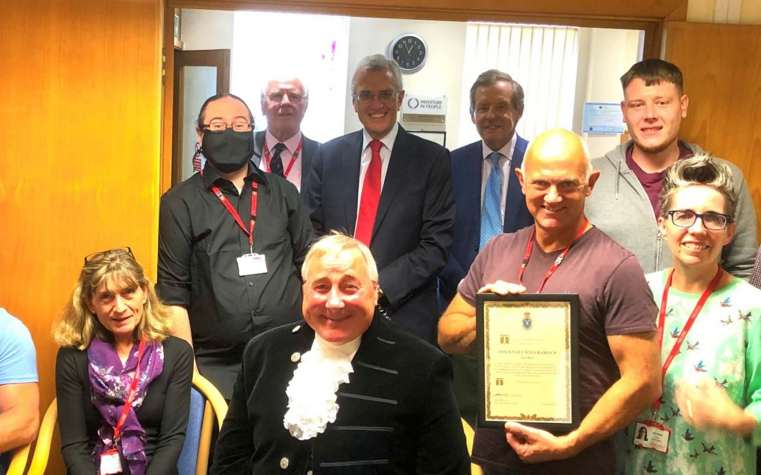 Open Road welcomes High Sheriff of Essex, Simon Brice