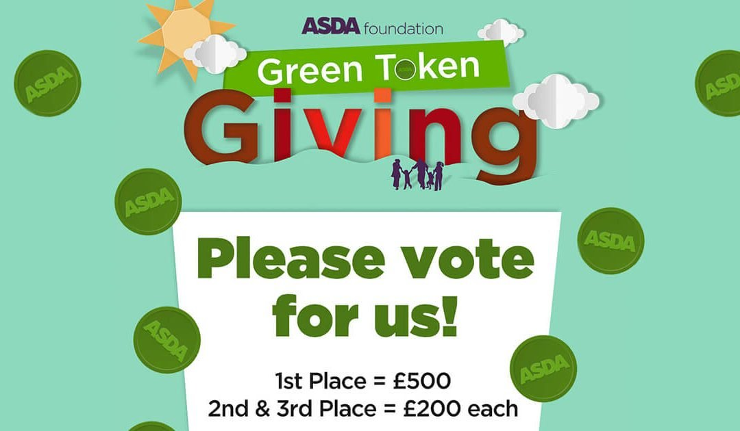 Open Road Nominated For The ASDA Foundation Green Token Giving